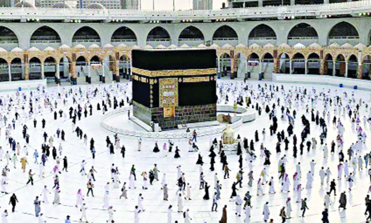 'মসজিদুল হারামে নামাজ আদায়ে পূর্ণ ডোজ ভ্যাকসিন বাধ্যতামূলক'
