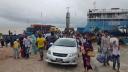 বৈরী আবহাওয়া ৪ ঘন্টা পর শিমুলিয়া-বাংলাবাজার নৌপথে ফেরি চলাচল শুরু