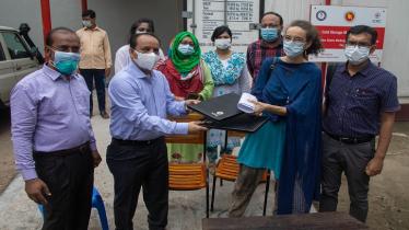 ঢাকা মেডিকেলে মৃতদেহ সংরক্ষণে নতুন হিমাগার দিয়েছে আইসিআরসি
