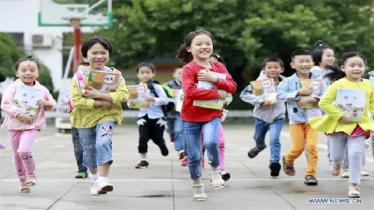 চীনে শিশুদের হোমওয়ার্ক কমাতে নতুন আইন