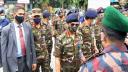 ময়মনসিংহে সেনাবাহিনীর টহল পরিদর্শন করলেন সেনাপ্রধান