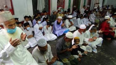 সৌদি আরবের সাথে মিল রেখে পটুয়াখালীর ২২ গ্রামেঈদুল আযহা উদযাপন
