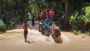ফেনীর মুহুরী ও কহুয়া নদীর বাঁধ ভেঙ্গে ৬ গ্রাম প্লাবিত