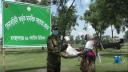 কুড়িগ্রামে দুঃস্থদের মাঝে নিজেদের রেশন বিতরণ করল সেনাবাহিনী