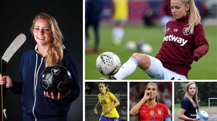 বিশ্বের আবেদনময়ী ১০ নারী ফুটবল তারকা