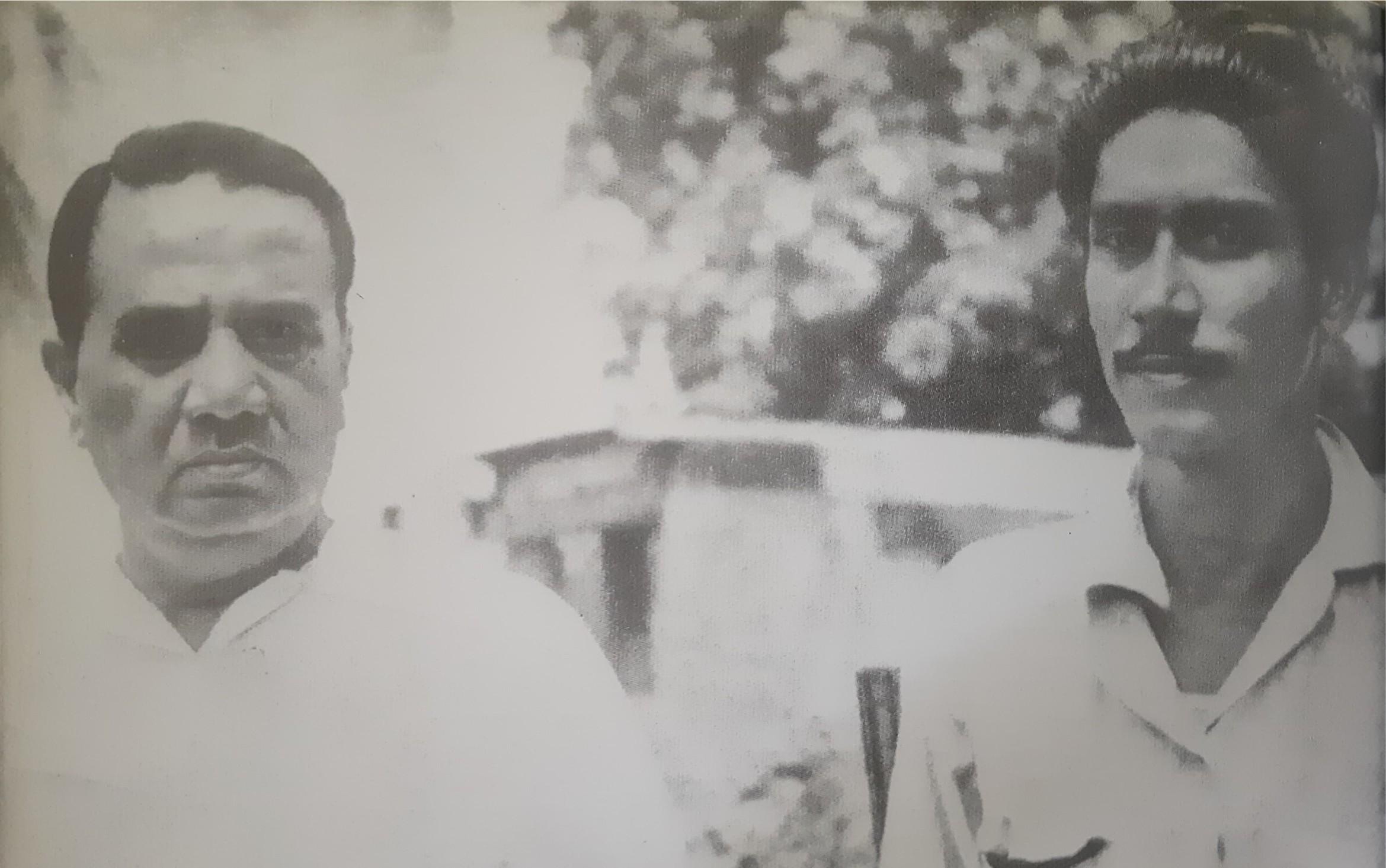 হোসেন শহীদ সোহরাওয়ার্দীর সাথে ছাত্রজীবনে বঙ্গবন্ধু (১৯৪৯)